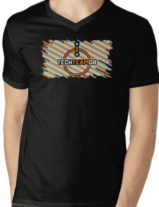 TechteamGB Style Mens V-Neck T-Shirt