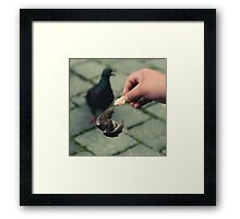 The Sparrow Framed Print