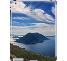 Ionian panorama from Xiromero iPad Case/Skin