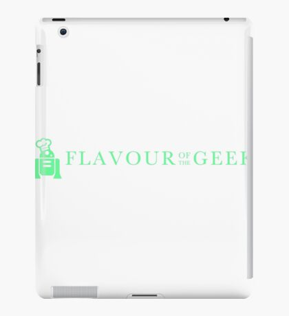 Flavour of the Geek iPad Case/Skin