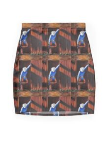 End Of The Trail, The Painting Mini Skirt
