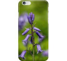 Bluebells in a Meadow iPhone Case/Skin