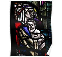 'The Child' - Glass by Douglas Strachan Poster