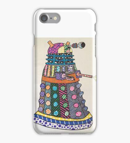 Dalek zentangle iPhone Case/Skin