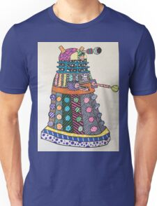 Dalek zentangle Unisex T-Shirt