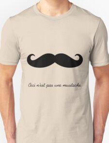 Ceci n'est pas une mustache T-Shirt
