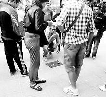 Parisian Street Illusionist by TimothyMonson