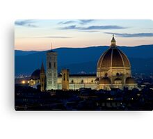 Italie - Toscane - Florence (Firenze) Canvas Print