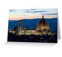 Italie - Toscane - Florence (Firenze) Greeting Card