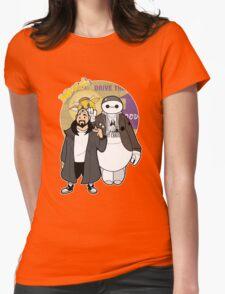 Jaymax an Silent Bob Womens Fitted T-Shirt