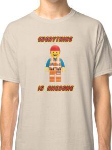 Emmet Brickowski / Everything is Awesome Classic T-Shirt