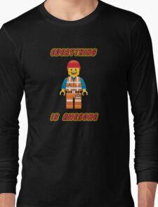 Emmet Brickowski / Everything is Awesome Long Sleeve T-Shirt