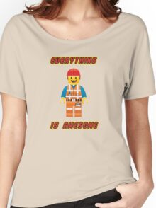 Emmet Brickowski / Everything is Awesome Women's Relaxed Fit T-Shirt