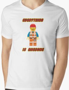 Emmet Brickowski / Everything is Awesome Mens V-Neck T-Shirt
