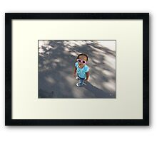 Trend Setting Framed Print