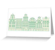 European house Greeting Card