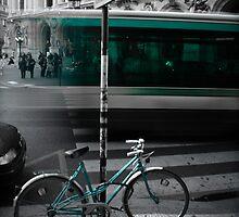 Teal Transit by TimothyMonson