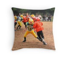 Field Action Throw Pillow