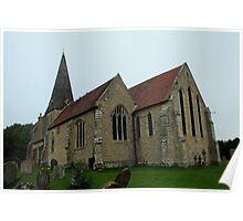 All Saints, Woodchurch Poster