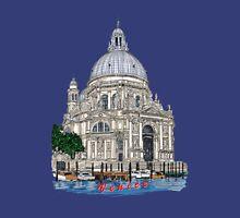 Santa Maria della Salute,Venice Womens Fitted T-Shirt