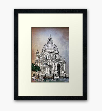 Santa Maria della Salute,Venice Framed Print