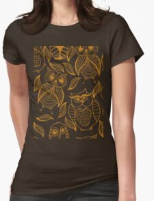Four different brown owls T-Shirt