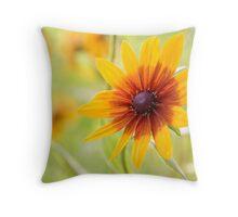 Rudbeckia sun Throw Pillow