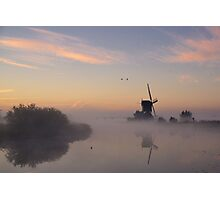 A dutch morning Photographic Print