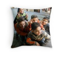 Eid Festivities - Damascus Throw Pillow