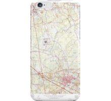 Massachusetts  USGS Historical Topo Map MA Bridgewater 350879 1977 25000 iPhone Case/Skin