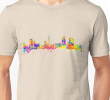 Auckland New Zealand Skyline Unisex T-Shirt