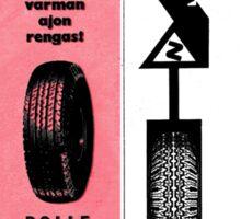 Pirelli Advert Sticker