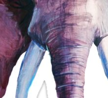 Blended Strength- Elephant Painting Sticker