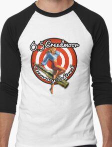 The Creedmoor Girl! Men's Baseball ¾ T-Shirt