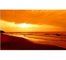 Golden Sunrise-Early Dawn     ^ Photographic Print