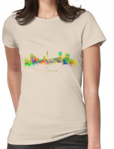 Auckland New Zealand Womens Fitted T-Shirt