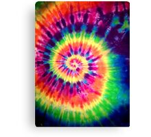 Psychedelic Colours Canvas Print