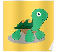 the little tortoise Poster