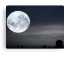 Silvery Moon ©  Canvas Print