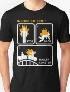Case of Fire Roller Coaster T-Shirt