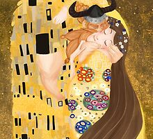Stoick and Valka's Kiss by Chorchori