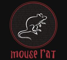 Mouse Rat Band Names  by Vector  T-Shirts