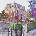 Governor's Mansion, Jefferson City, Missouri by Brion Marcum