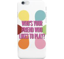 Inside Out - Who's Your Friend Who Likes to Play? iPhone Case/Skin