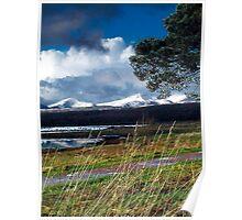 Saint Columba's Bay, Barcaldine, Argyll Poster