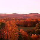 Colors of Autumn Across the Hills by teresa731