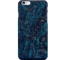 Massachusetts  USGS Historical Topo Map MA Pittsfield 352934 1890 62500 Inverted iPhone Case/Skin