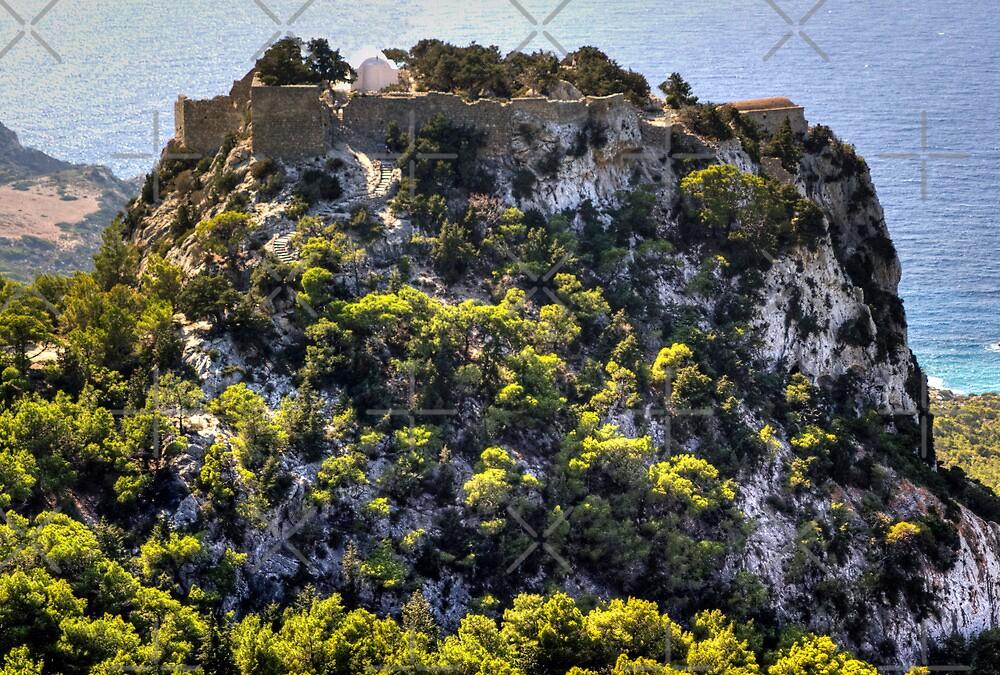 Monolithos Castle by Tom Gomez