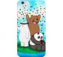 We Bare Bears Celebration iPhone Case/Skin