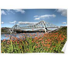 Connel Bridge, Argyll. September. Poster